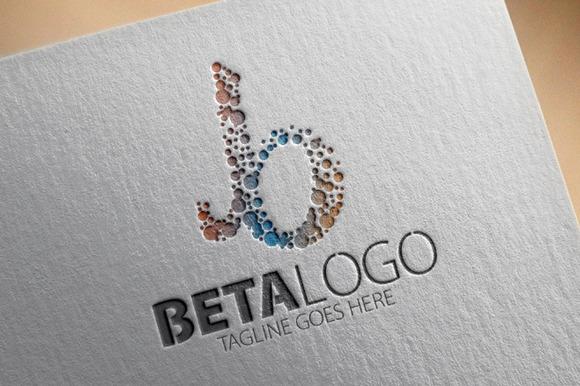 Beta B Letter Logo