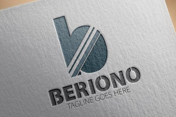 Berino B Letter Logo