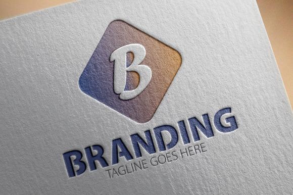 Branding B Letter Logo