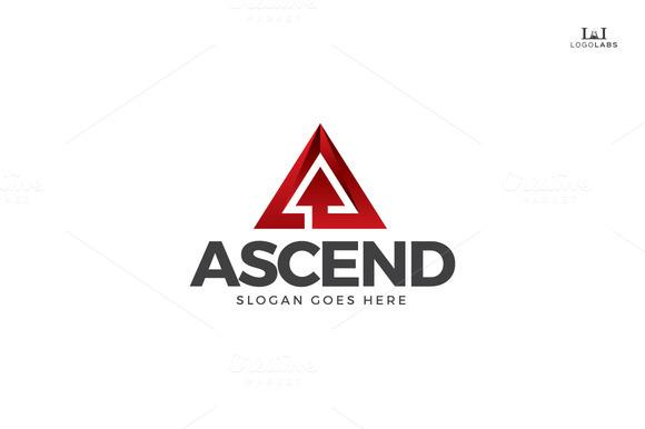 Ascend Letter A Logo