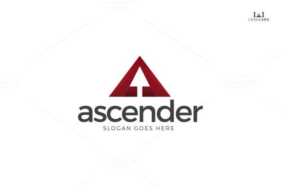 Ascender Letter A Logo
