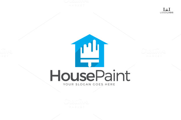 House Paint Logo