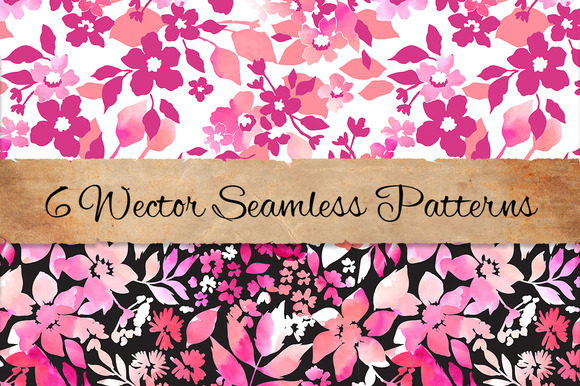 Floral Patterns Set