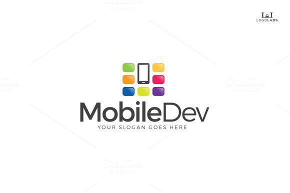 Mobile Dev Logo