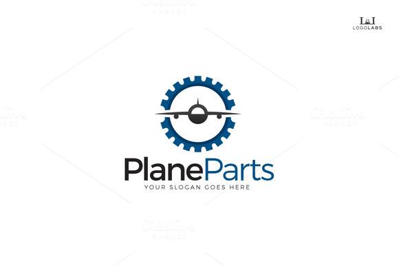 Plane Parts Logo
