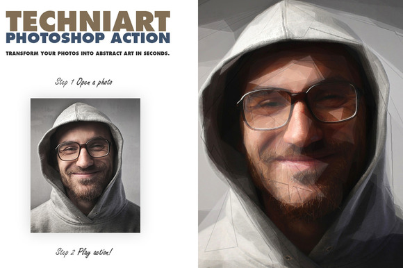 TechniArt Photoshop Action