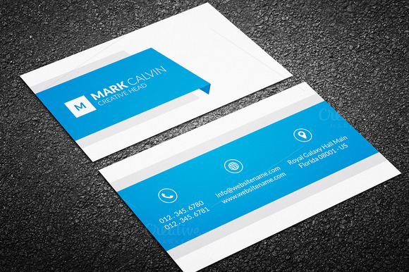 Creative Business Card Template 45