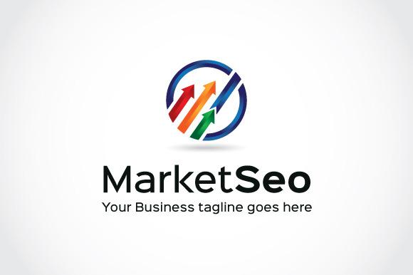 Market Seo Logo Template