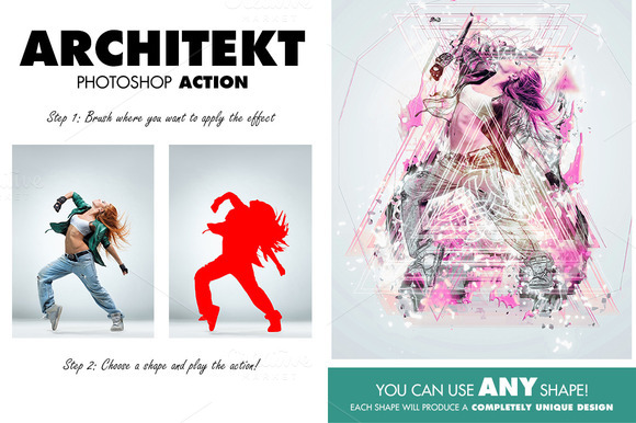 Architekt Photoshop Action