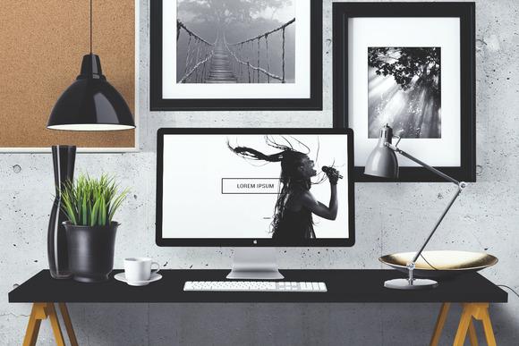 Create Your Own Desktop Mock Up