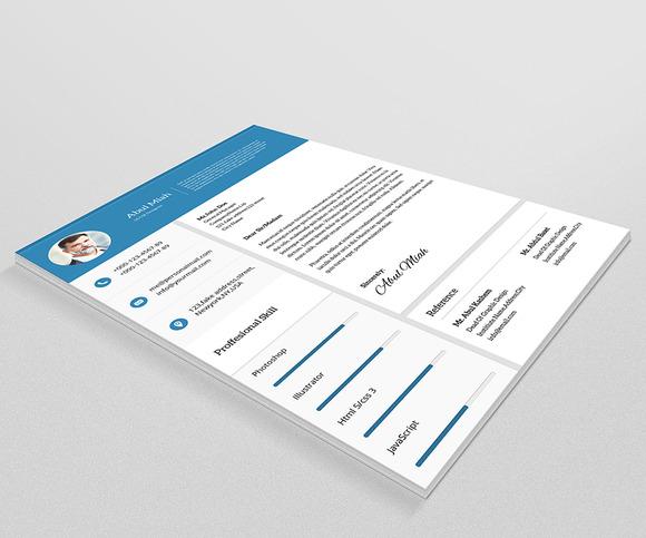 Material Resume CV