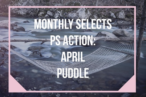 Monthly PS Action April Puddle