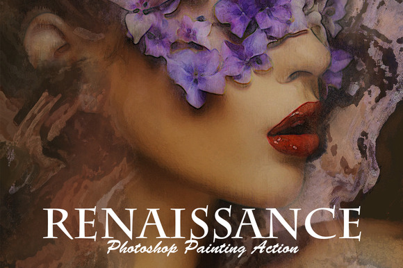 Renaissance Photoshop Paint Action