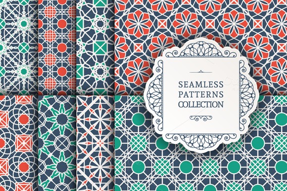 8 Seamless Patterns