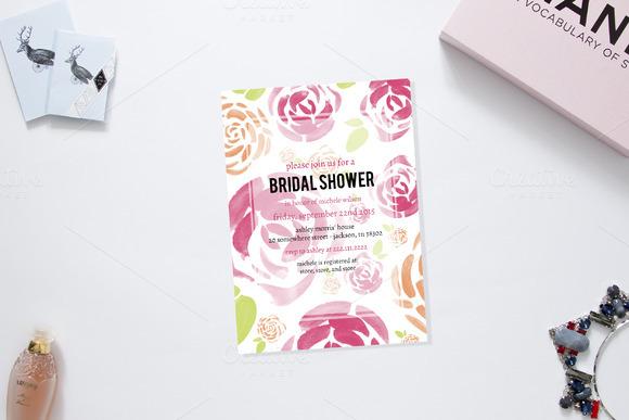 Spring Fling Bridal Shower Invite