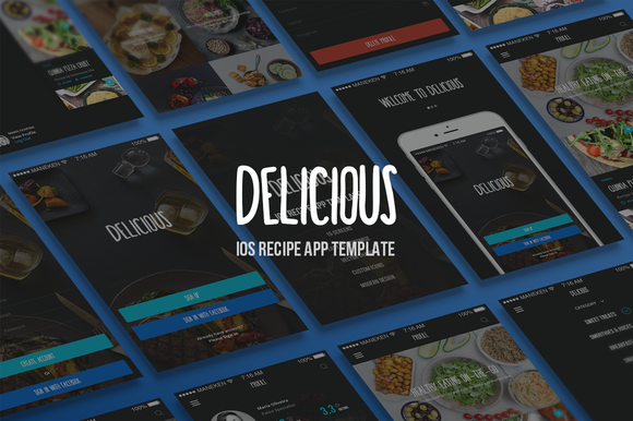 Delicious IOS App Template