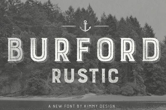 Burford Rustic Pro 60% 0FF