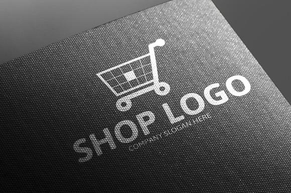Shop Logo Template