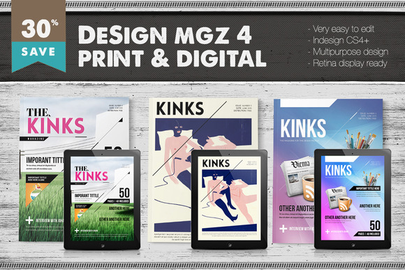 Design Magazine 4 Bundle