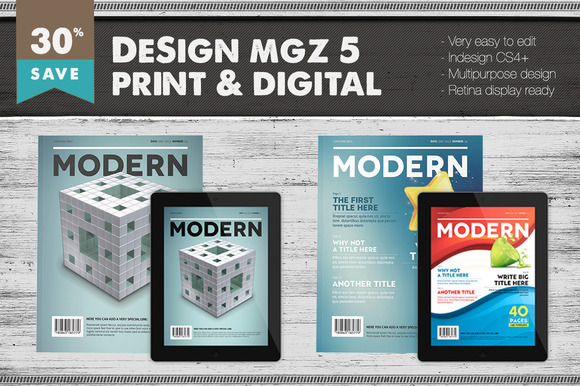 Design Magazine 5 Bundle