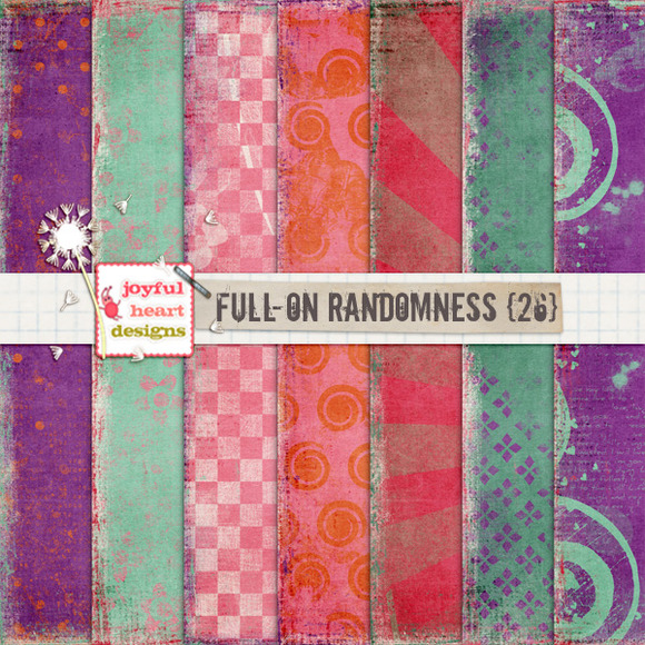 Full-On Randomness {twenty Six}