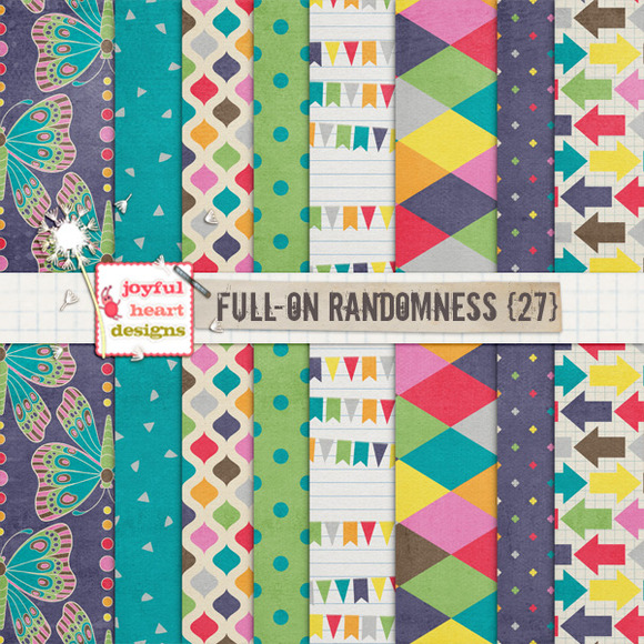 Full-On Randomness {twenty Seven}