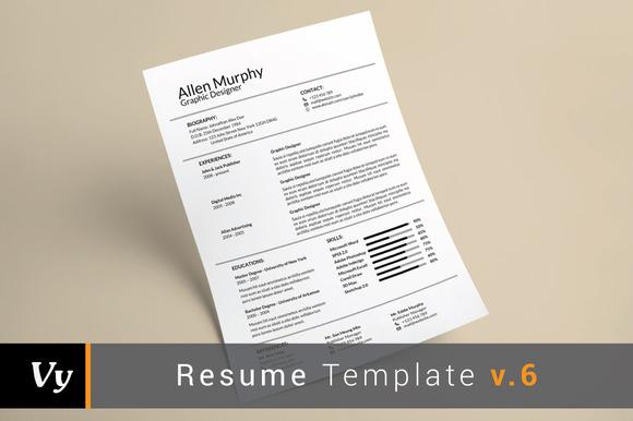 Simple Resume Template