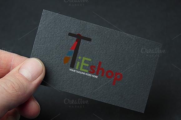 E Commerce Tieshop Logo