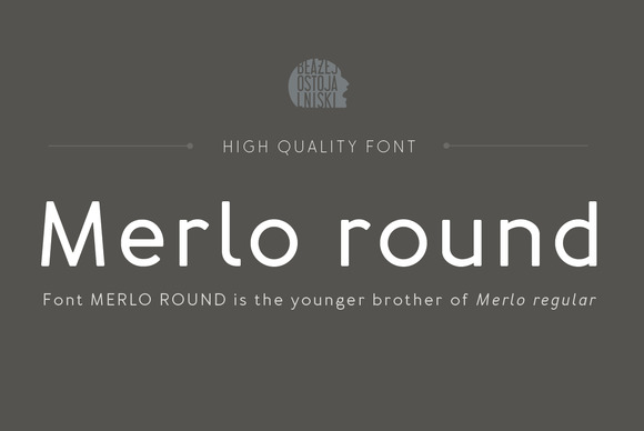 Merlo Round Family Font 50% OFF
