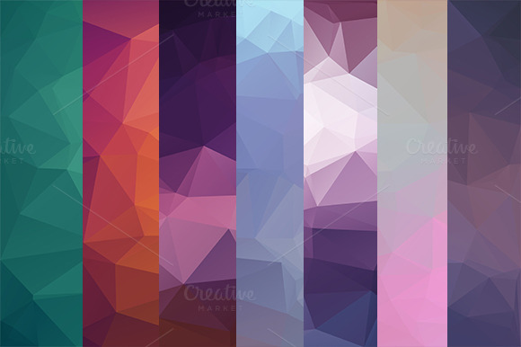 30 Polygon Backgrounds