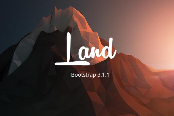 Land Responsive Landing Page