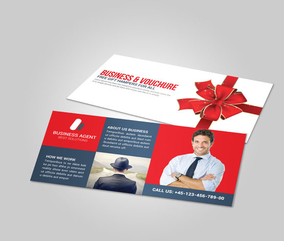 Business Gift Card Voucher