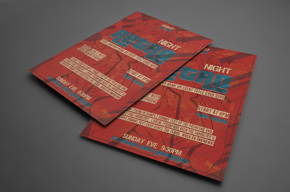 Multipurpose Retro FLYER Template