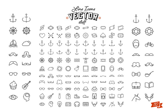 110 Icons For Only 2 $
