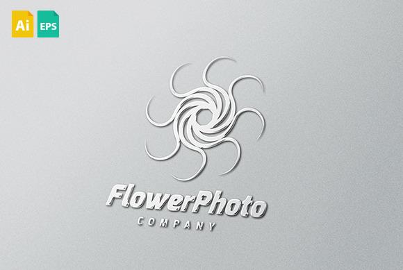 Flower Photo Logo