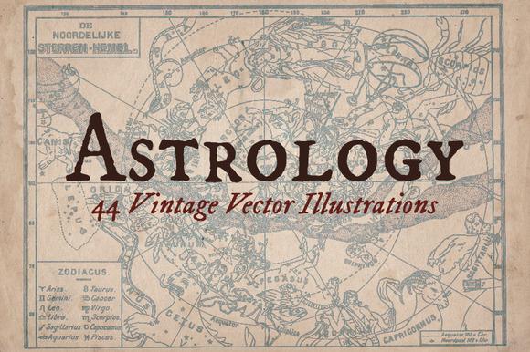 Vintage Astrology Illustrations