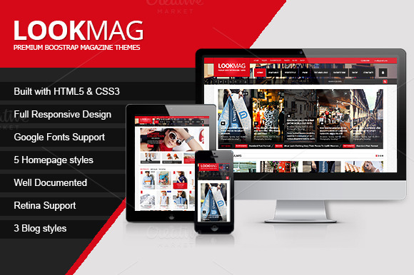 LookMag Wordpress Magazine Theme