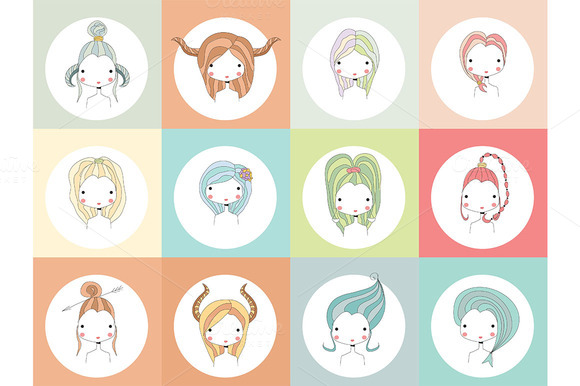 12 Horoscope Signs