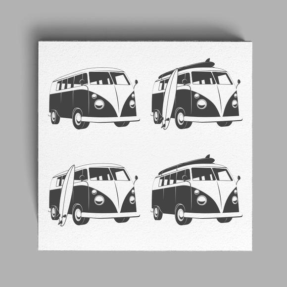 Vintage Surfers Bus