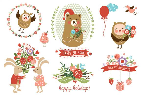 Holidays Clip Art