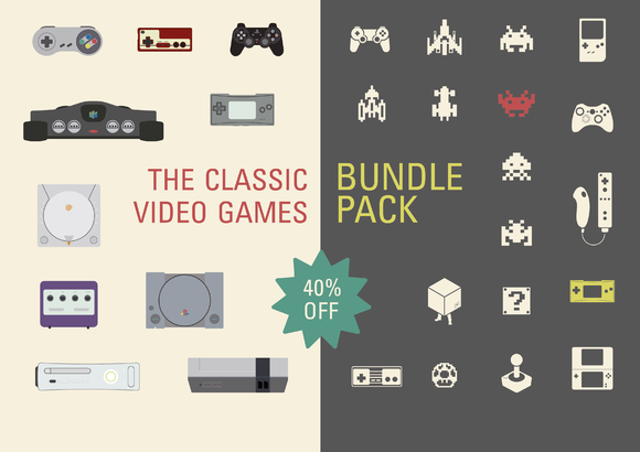 The Classic Vedio Game BUNDLE PACK
