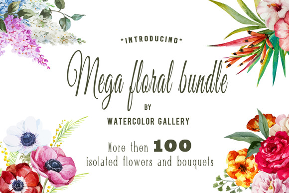 Mega Floral Bundle