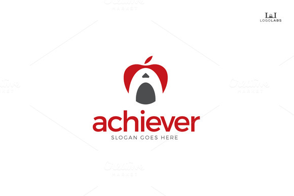 Achiever Letter A Logo