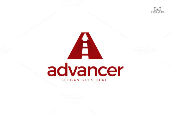 Advancer Letter A Logo