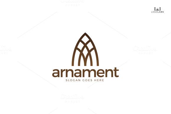 Arnament Classy Letter A Logo