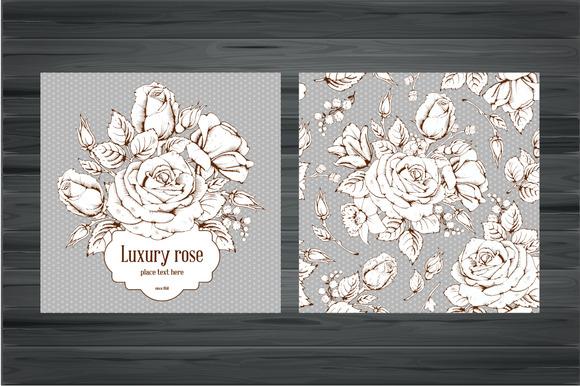 Luxury Rose In Vector