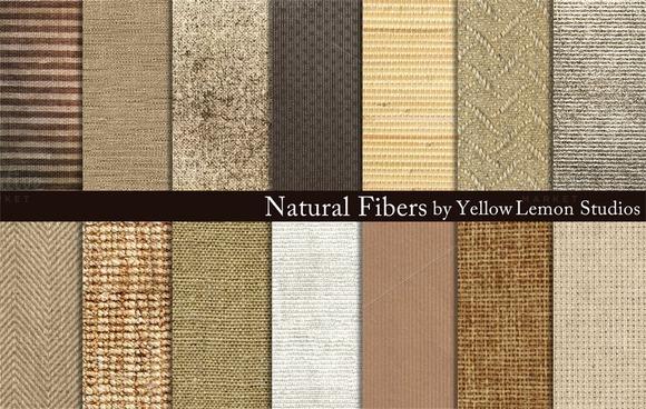 Natural Fibers Burlap Linen Woven