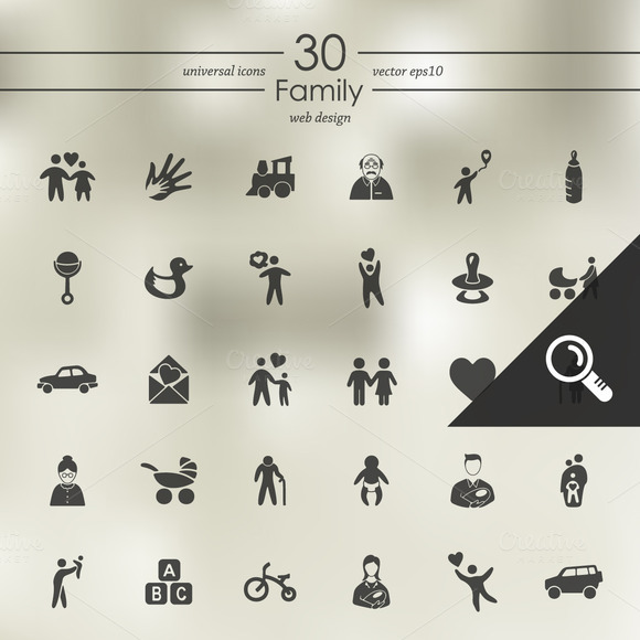 30 FAMILY Icons