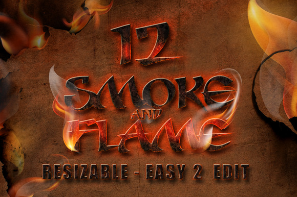 12 Smoke And Flame Effects