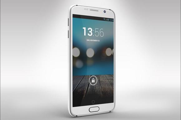 Samsung Galaxy S6 Mock Up